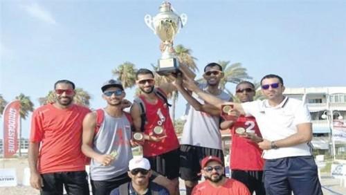 سلطنة عُمان تتوج بلقب بطولة تصفيات غرب آسيا للكرة الشاطئية