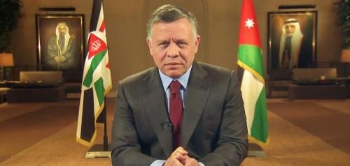 """ملك الأردن يقدم عزاءه للرئيس المصري في ضحايا """"معهد الأورام"""""""