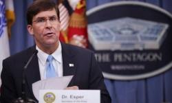 """عاجل.. وزير الدفاع الأمريكي: العمليات العسكرية التركية شمال سوريا """"غير مقبولة"""""""