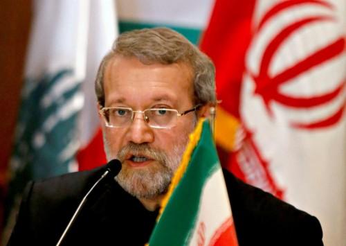 لاريجاني: أمريكا تسببت في إضطرابات أمنية بإيران لكنها لا تريد الحرب