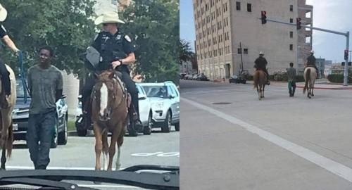 """موجة غضب تجاه شرطة تكساس بسبب صورة عنصرية """"صادمة"""""""