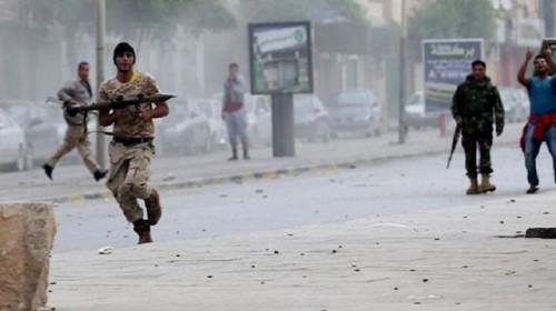 اشتباكات عنيفة بين القوات الجنوبية ومليشيات الإخوان في المنصورة