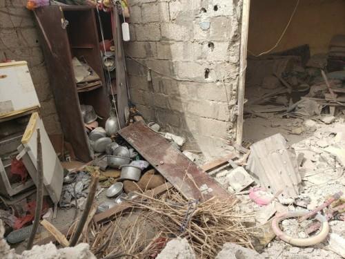 مليشيات الإخوان تقصف منازل المواطنين في دار سعد