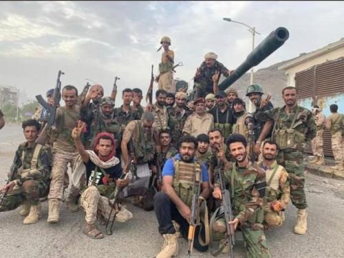 القوات الجنوبية تحاصر المليشيات الإخوانية داخل قصر اليمامة