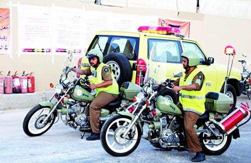 لمواجهة الطوارئ.. المملكة تهيئ فرق التدخل السريع بالدفاع المدني لحماية الحجاج
