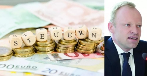 مشروع قانون لإلغاء ضريبة التضامن بين  شطري ألمانيا