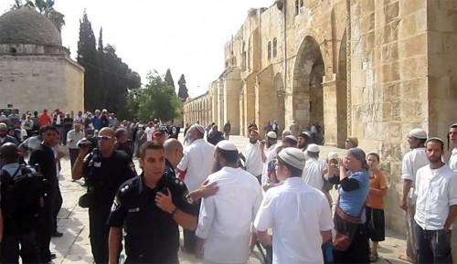 بعد قتل شاب فلسطيني.. مستوطنون يقتحمون الأقصى بباب المغاربة