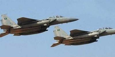 6 غارات على تحركات الحوثيين بمديرية سحار