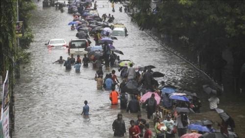 ارتفاع ضحايا الفيضانات في ميانمار إلى 52 قتيلًا