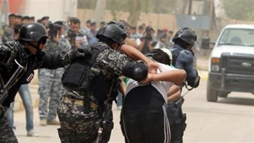 الشرطة العراقية تضبط عنصرين من داعش بالموصل