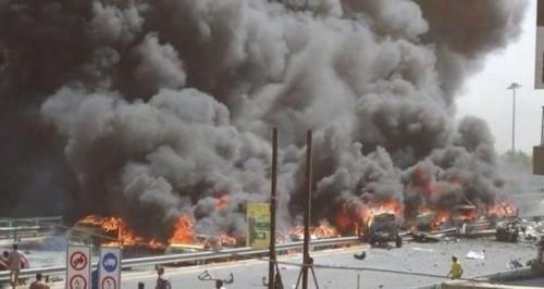 عاجل.. انفجار داخل مخزن أسلحة بالعراق.. والسفارة الأمريكية تطلق صافرات الإنذار
