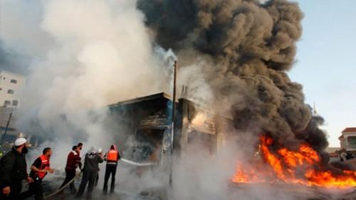 الصحة العراقية: 13 مصابًا إثر انفجار بمخزن أسلحة ببغداد
