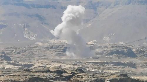 تواصل الاشتباكات العنيفة بين قوات الجيش ومليشيا الحوثي بباقم