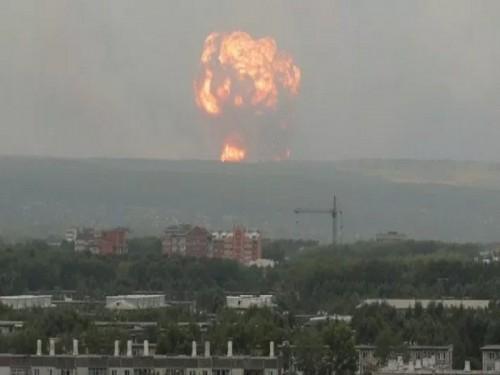 """زيادة معدل الإشعاع في """" سفرودفنسك """" الروسية إلى 16 مرة عقب انفجار القاعدة العسكرية"""