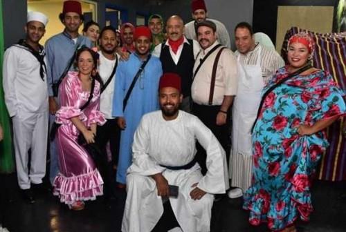 بالصور.. فريق مسرح مصر يتألق في العرض الأول للموسم الأخير
