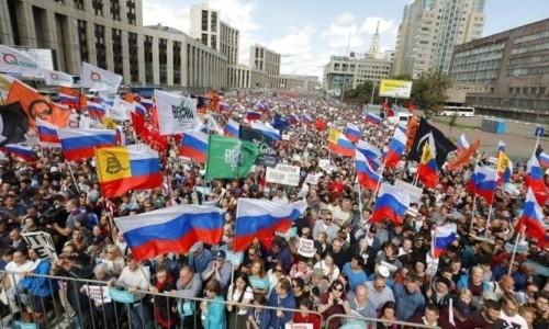 الكرملين يبرر أعمال العنف ضد متظاهري روسيا