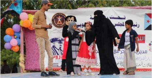 """بمناسبة العيد وانتصارات عدن.. """"المرأة والطفل"""" بانتقالي الشحر تنظم حفلا وطنيا"""