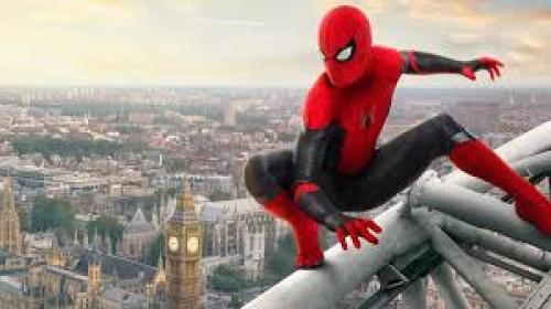 """فيلم """"spider-man far from home"""" يتذيل قائمة شباك التذاكر"""