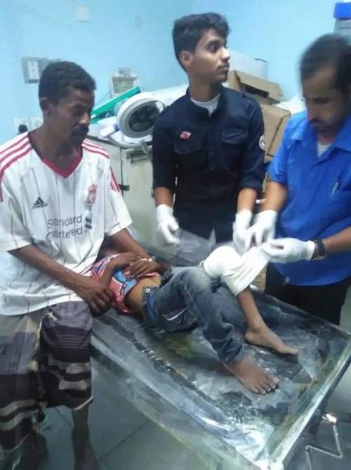مستشفى الدفيعة بشبوة يستقبل 5 حالات مصابة برصاص راجع (صور)