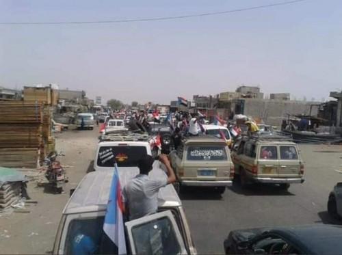 بدء وصول المشاركين في مليونية النصر إلى عدن