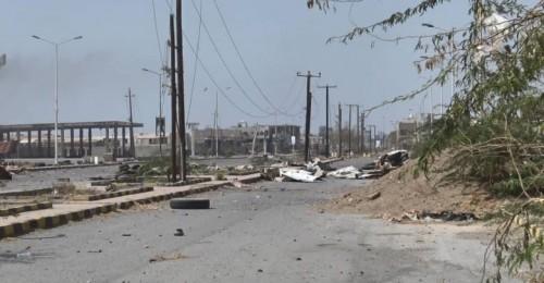 مليشيات الحوثي تقصف مواقع القوات المشتركة شرق مدنية الصالح بالحديدة