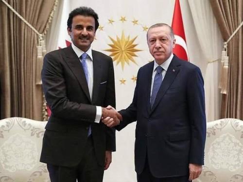 خضوع تميم.. تركيا تبني قاعدة عسكرية جديدة بقطر