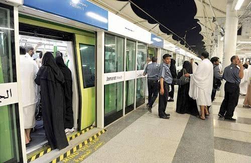 إدارة قطار الحرمين السريع ترفع طاقتها الاستيعابية لتوديع الحجاج