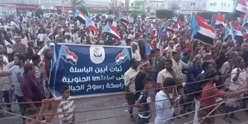 وفد أبين يصل إلى العاصمة عدن للمشاركة في مليونية النصر..تفاصيل