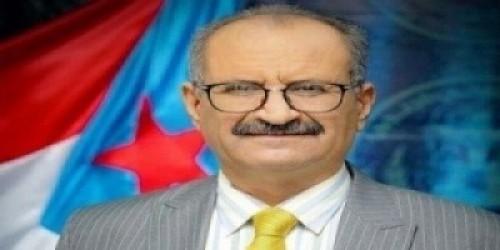 """""""الجعدي"""" يطالب الشعب الجنوبي بالتكاتف لتعزيز الوحدة الوطنية"""