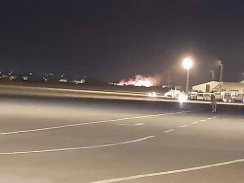 عاجل.. قصف مطار معيتيقة الليبي بعدة قذائف