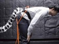 اليابان تبتكر ذيل ألي لمساعدة المسنين في السير