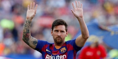 ميسي يغيب عن أول مباراة لبرشلونة في الدوري الإسباني