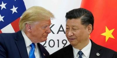 """""""ترامب"""" يؤكد أن الحرب التجارية مع الصين أوشكت على الانتهاء"""