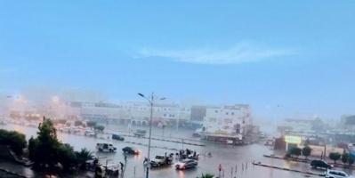 توقعات بأمطار على عدن.. وسحب رعدية بعدة محافظات