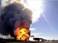 """ارامكو السعودية تعلن السيطرة على حريق """"شيبة للغاز"""""""