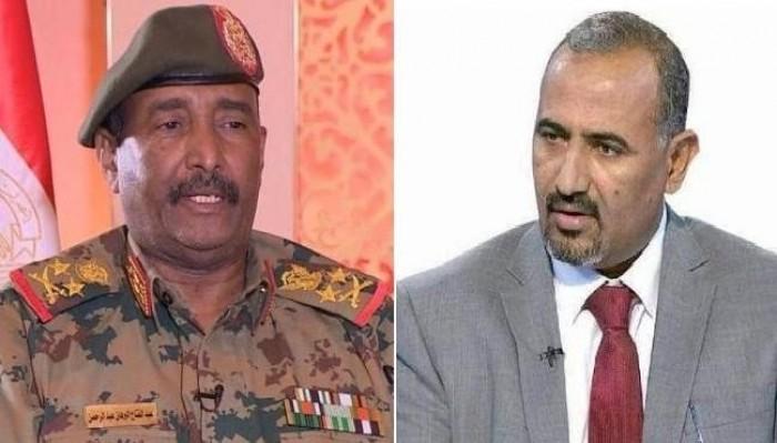 الزبيدي يهنئ السودان بالتوقيع على الإعلان الدستوري