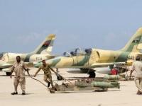 """الجيش الليبي يقصف مواقع للطائرات التركية بمصراتة واشتباكات بمدية """"مرزوق"""""""