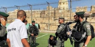 قوات الاحتلال الإسرائيلي تقتحم ملعبًا بالقدس وتمنع إقامة دوري كرة القدم