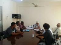 نائب رئيس انتقالي عدن يتفقد دوائر السلطة المحلية بالمديريات (صور)