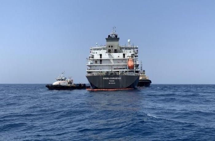 ناقلة النفط الإيرانية المحتجزة تغادر المياه الإقليمية لجبل طارق