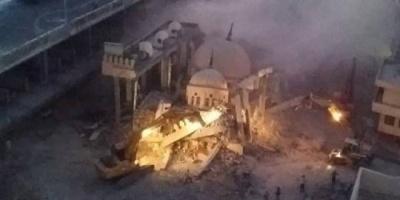 بعد حديث الرئيس المصري.. هدم مسجد بضريح مخالف في الإسكندرية.. صور