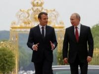 خلال لقائه مع نظيره الفرنسي.. بوتين: ندعم الجيش السوري في حربه على الإرهاب