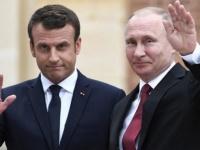 الرئيس الروسي لنظيرة الفرنسي: أود كثيرًا معرفة موقف باريس من ليبيا