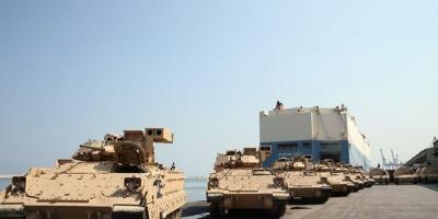 """ضمن برنامج المساعدات الأمريكية.. واشنطن تسلم لبنان ترسانة أسلحة.. """"فيديو"""""""