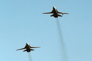 مقاتلات جوية بريطانية ترافق طائرتين روسيتين فوق بحر البلطيق