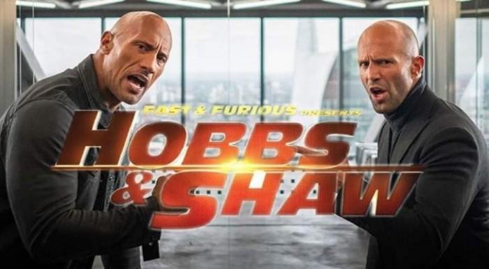 """إيرادات فيلم الأكشن والإثارة """"Hobbs & Shaw"""" ترتفع إلى هذا الرقم"""