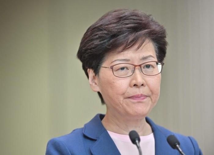رئيسة هونج كونج: نأمل أن تضعنا الاحتجاجات السلمية على الطريق الصحيح