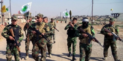 اندلاع حريق بمخزن للأسلحة تابع لميليشيات الحشد الشعبي بالعراق