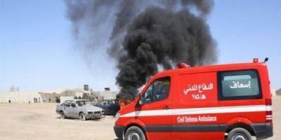 10 فرق إسناد من الدفاع المدني العراقي للسيطرة على الحرائق بمخازن أسلحة الحشد الشعبي
