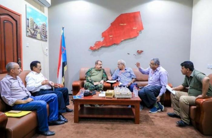 تفاصيل اجتماع رئيس الجمعية الوطنية مع هيئة إدارة مستشفى باصهيب العسكري